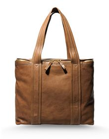 Large leather bag - PIERRE HARDY