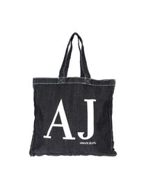 ARMANI JEANS - Large fabric bag
