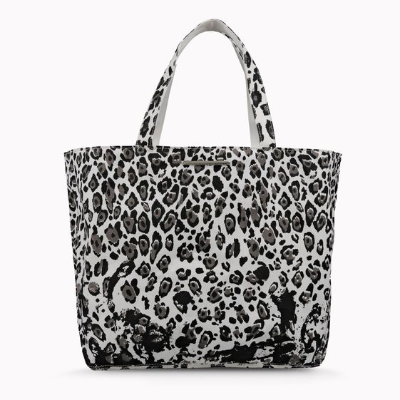 Stella McCartney, Tote Bag Noemi con Stampa Leopardo