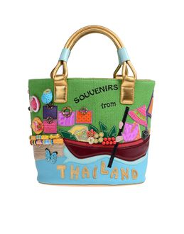 TUA BY BRACCIALINI Medium fabric bags - Item 45196700