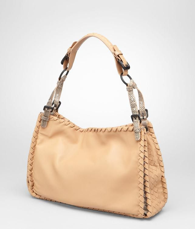 BOTTEGA VENETA Nappa Ayers Bag Shoulder or hobo bag D fp