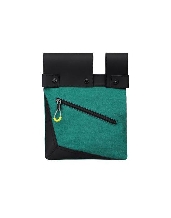 7b634a4baeab  91978 TELA STELLA PELLE EFFETTO GOMMA Small Fabric Bag Stone Island Men - Official  Online Store