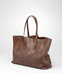 Top Handle BagBagsNappa leatherBrown Bottega Veneta