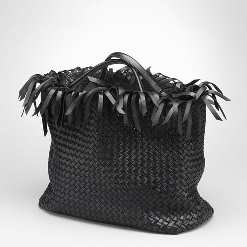 Tote BagBags100% LambskinBlack Bottega Veneta