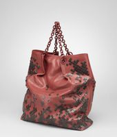 Mosaico Laque Leather Tote