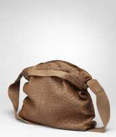 Washed Antique Ostrich Cross Body Bag