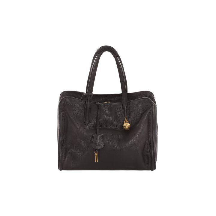 Alexander McQueen, Skull Padlock Top Handle Bag