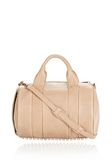 ALEXANDER WANG ROCCO IN LATTE PEBBLE WITH ROSE GOLD Shoulder bag Adult 8_n_f