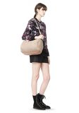 ALEXANDER WANG ROCCO IN LATTE PEBBLE WITH ROSE GOLD Shoulder bag Adult 8_n_r