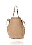 ALEXANDER WANG DIEGO IN LATTE PEBBLE LAMB WITH ROSE GOLD Shoulder bag Adult 8_n_d