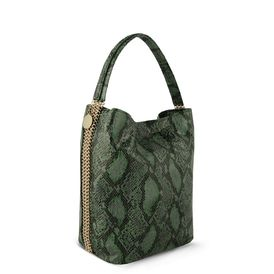 STELLA McCARTNEY, Shoulder Bag, Bailey Boo Faux Python Hobo Bag