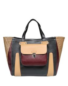 Large leather bag - CARVEN