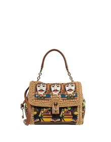 Borsa media in tessuto - DOLCE &amp; GABBANA