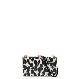STELLA McCARTNEY, Clutch Bag, Felicity Plexi Clutch 