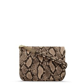 STELLA McCARTNEY, Sac d'épaule, Bailey Boo Faux Python Shoulder Bag