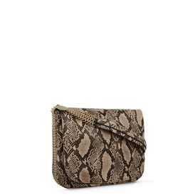STELLA McCARTNEY, Shoulder Bag, Boo Faux Python Shoulder Bag