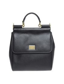 DOLCE & GABBANA - Medium leather bag