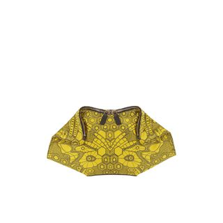 ALEXANDER MCQUEEN, Clutch, Honeycomb Wing Print Demanta