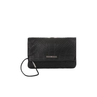 McQ, Top Handle, Slash Leather Folded Clutch