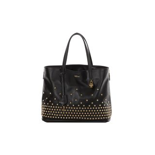 ALEXANDER MCQUEEN, Top Handle, Studded Skull Padlock Shopper