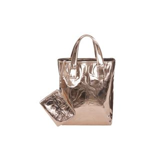 McQ, Tote, Metallic Iris Embossed Kingsland Tote