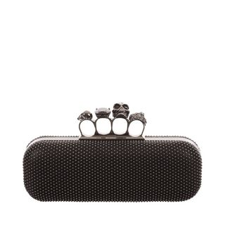 ALEXANDER MCQUEEN, Clutch, Studded Knucklebox Clutch