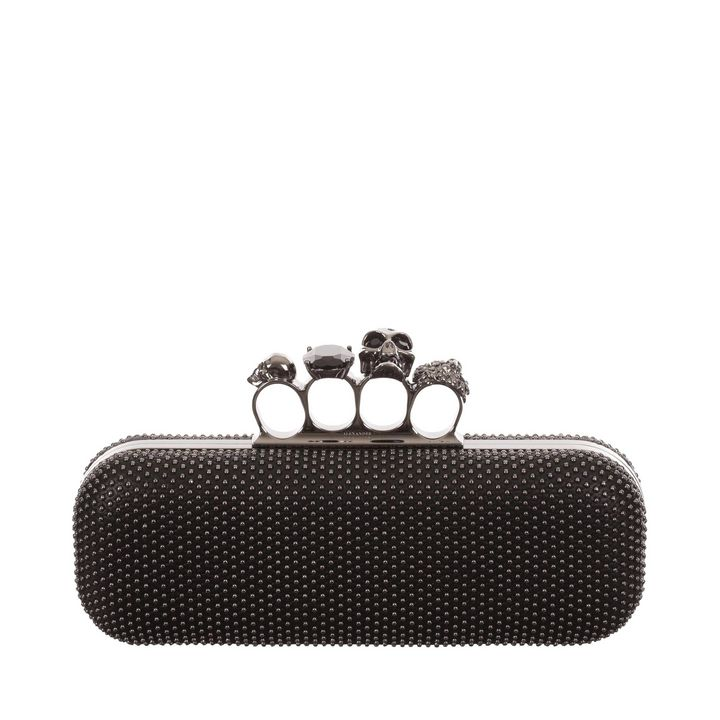 Alexander McQueen, Studded Knucklebox Clutch