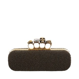ALEXANDER MCQUEEN, Pouch, Studded Knucklebox Clutch