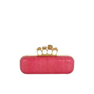ALEXANDER MCQUEEN, Clutch, Whipsnake Knucklebox Clutch