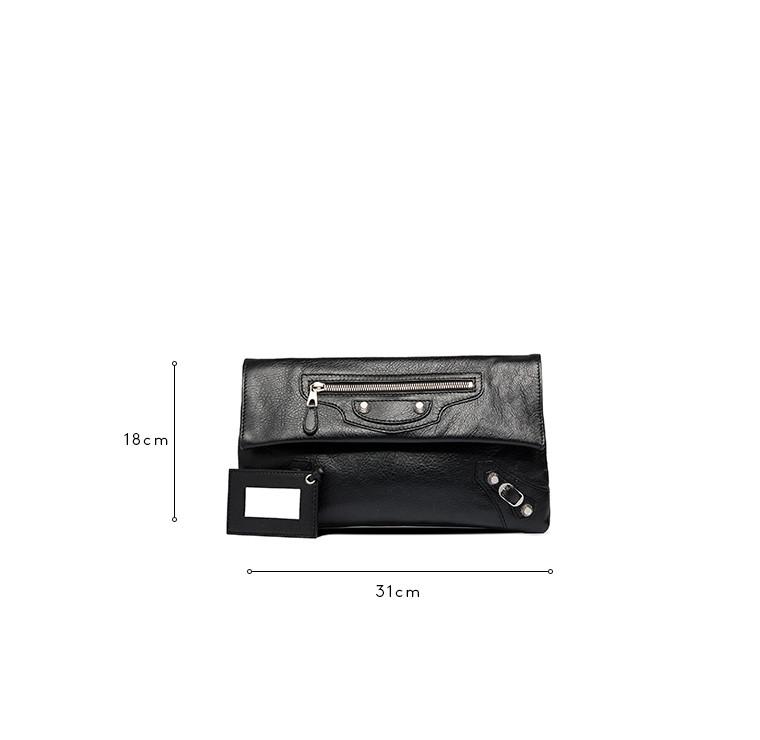 Balenciaga Giant 12 Envelope Plata