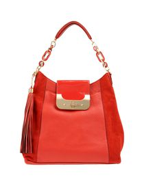 DIANE VON FURSTENBERG Large leather bag