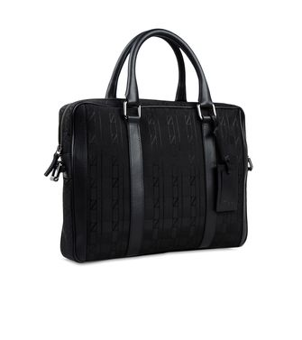 ZZEGNA: Shoulder bag Black - 45203997GR