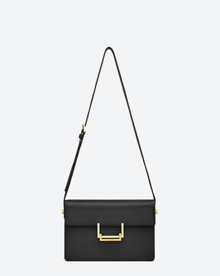 saintlaurent, Classic Medium Lulu Bag in Black Leather