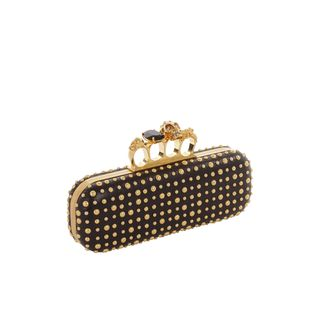 ALEXANDER MCQUEEN, Clutch, Bubble Stud Knucklebox Clutch