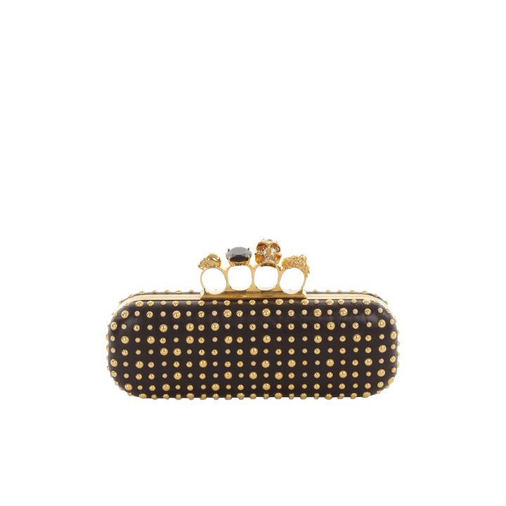 Alexander McQueen, Bubble Stud Knucklebox Clutch
