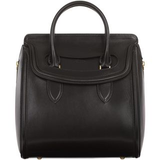 ALEXANDER MCQUEEN, Top Handle, Medium Leather Heroine