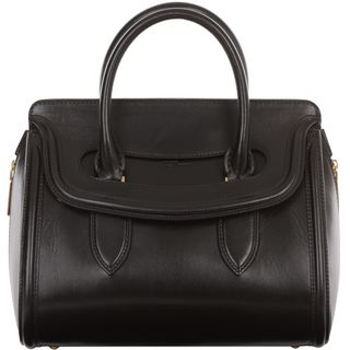 ALEXANDER MCQUEEN, Top Handle, Small Leather Heroine