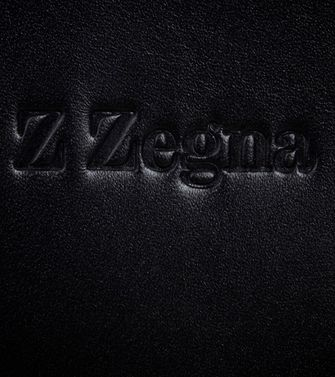 ZZEGNA: Leather cases & covers Black - Blue - 45206178DD