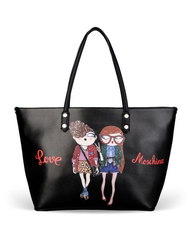 Moschino, Large fabric bag