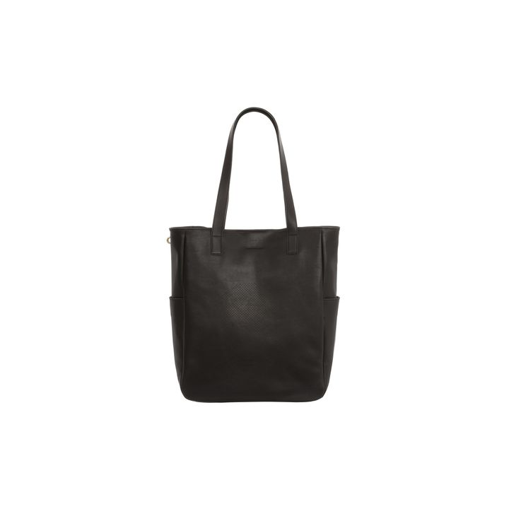 Alexander McQueen, Perforated Skull Leather Shopper