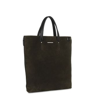 ERMENEGILDO ZEGNA: Tote Bag Black - Blue - 45206648XF