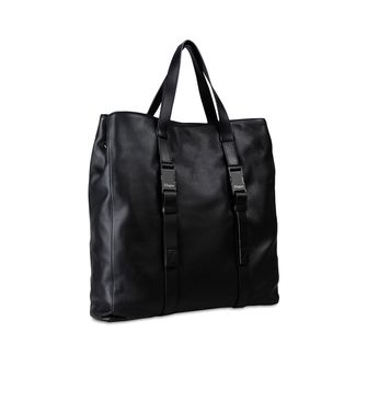ZZEGNA: Tote Bag Black - 45206652MJ