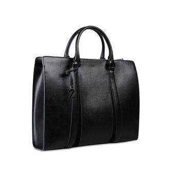 ZZEGNA: Tote Bag Black - 45206657DW