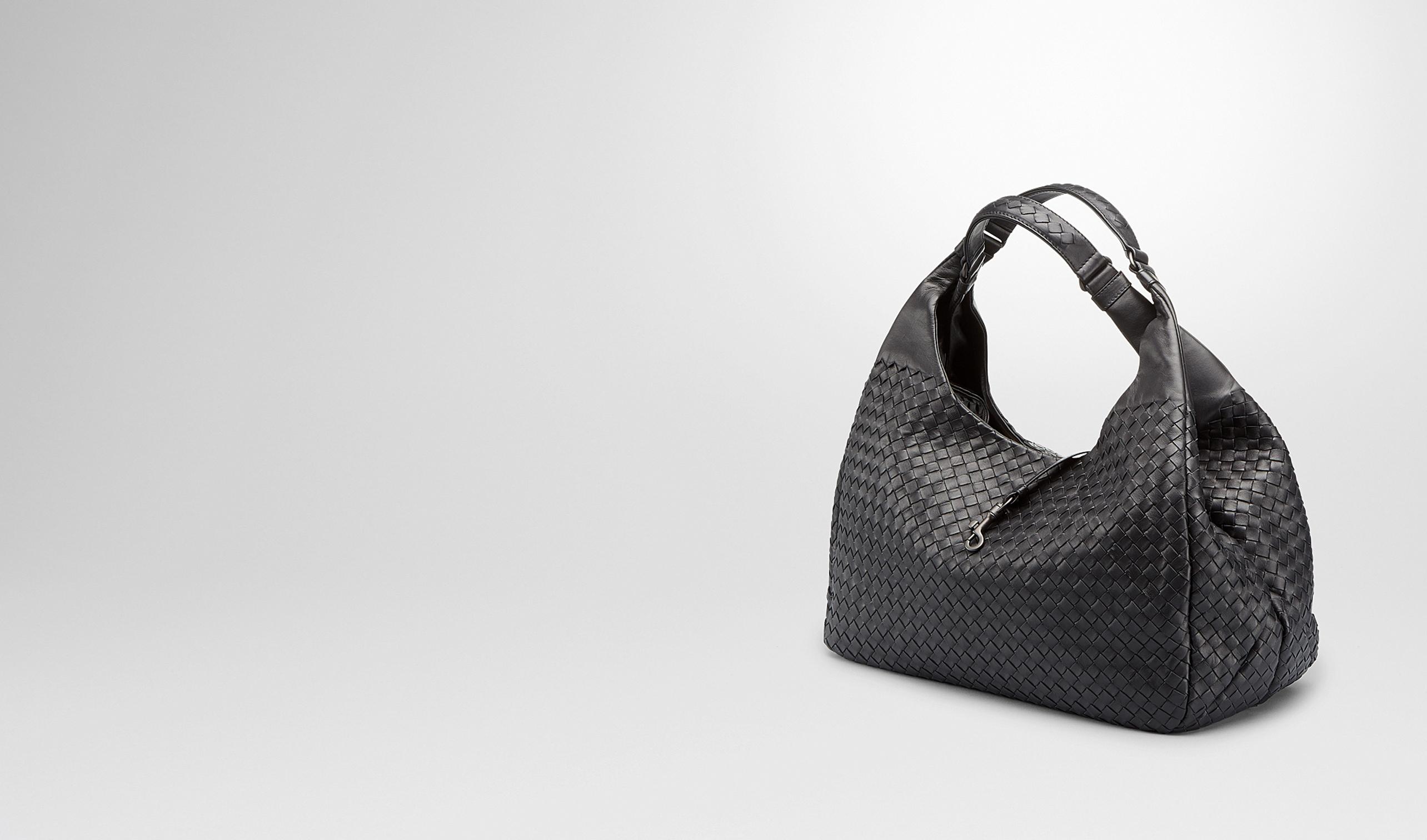 301201 8414 New Auth BOTTEGA VENETA Intrecciomirage Leather Clutch Pouch Bag