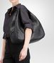 BOTTEGA VENETA LARGE CAMPANA BAG IN NERO INTRECCIATO NAPPA Shoulder or hobo bag D ap
