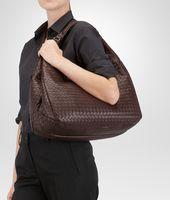 Campana Bag Ebano in Nappa Intrecciata