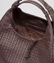 BOTTEGA VENETA Ebano Intrecciato Nappa Campana Bag Shoulder or hobo bag D dp