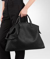 黑色编织小羊皮 CONVERTIBLE 手袋