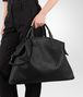 BOTTEGA VENETA MAXI CONVERTIBLE BAG IN NERO INTRECCIATO NAPPA Top Handle Bag D ap