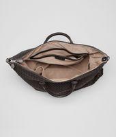 Ebano Intrecciato Nappa Convertible Bag